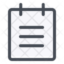 Memo Notes Reminder Icon