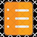 Memo Note Mobile Icon