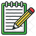 Writing Memo Educational Documents Paper Icon