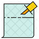 Memo Note Document Icon