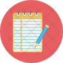Memo Book Notebook Notepad Icon