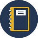 Diary Memo Book Notebook Icon
