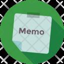 Memo Paper Icon