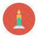Memorial Candle Light Icon