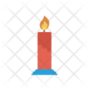 Memorial Light Candle Icon