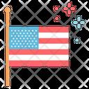 America Celebrate Usa Icon