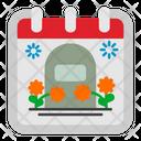 Memorial Day Calendar Icon