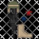 Memorial Day Military America Icon