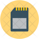 Memory Card Data Icon