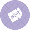 Memory Card Chip Icon