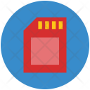Memory Card Mobile Icon