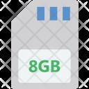 Memory Card Storage Icon