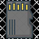 Memory Card Micro Icon