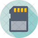 Memory Card Sd Icon
