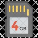 Memory Card Sd Icon