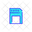 Memory Card Card Disket Icon