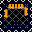 Memory Transfer Data Icon