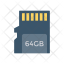 Memorycard Sdcard Storage Icon