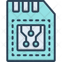 Memory Reminiscence Card Icon