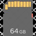 Flash Memory Card Icon