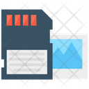Memory Card Sd Card Data Storage Icon