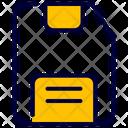 Memory Card Storage Card Icon