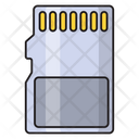 Sd Chip Memory Icon