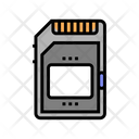Memory Card Color Icon