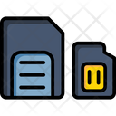 Memory Card Camera Icon