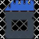 Memory Card Storage Sd Icon