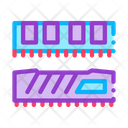 Riser Memory Cards Icon