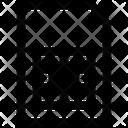 Card Data Sim Icon