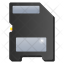 Memory Chip Memory Card Storage Card Icon