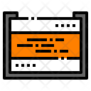 Memory Card Storage Icon