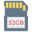 Card Sd Chip Icon