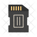 Chip Memory Card Icon