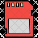 Memory Card Memory Chip Storage Device Icon