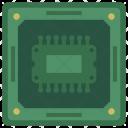 Memory Module Chip Icon