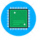 Microprocessor Processor Chip Integrated Circuit Icon