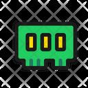 Memory Ram Memory Chip Speed Ram Icon