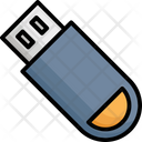 Memory Stick Pen Drive Usb Icon