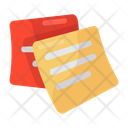 Memos Office Papers Sticky Notes Icon