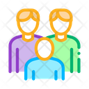 Men Homosexual Family Icon