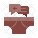 Mens Health Topic Under Garments Underpants Icon