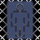 Men Toilet Icon