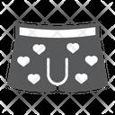 Men Underwear Valentines Icon