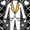 Men Wedding Dress Icon