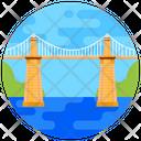 Menai Bridge Menai Suspension Bridge Footbridge Icon