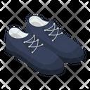 Mens Shoes Footpiece Footgear Icon