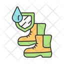 Mens Waterproof Boots Icon